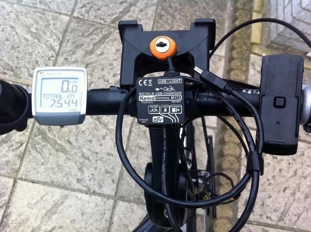 fiets usb oplader